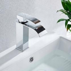 Bateria umywalkowa Lotus Chrom Niska - Calani