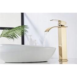 Bateria umywalkowa Lotus Złota Wysoka - Calani