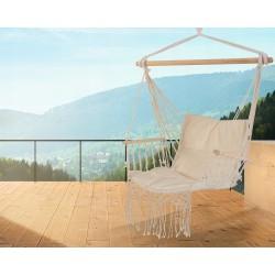 Krzesło Brazylijskie Boho Wiszący Fotel Podłokietniki