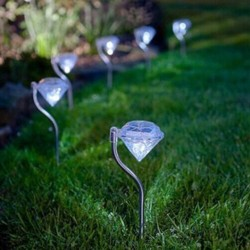 Lampa Solarna Wbijana Diament J-05 Toolight