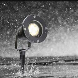 Lampa Ogrodowa Wbijana Zewnętrzna Reflektor