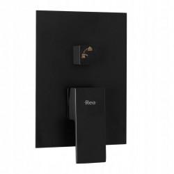 Zestaw natryskowy podtynkowy Fenix Black + Box