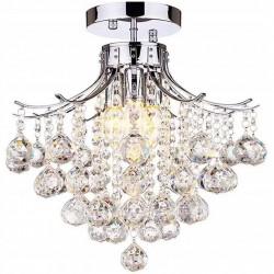 Lampa Plafon Kryształowy...