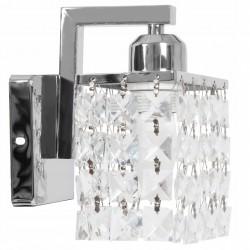 Lampa Kinkiet Kryształki Chrom