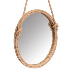 Lustro 60 cm okrągłe sznur...