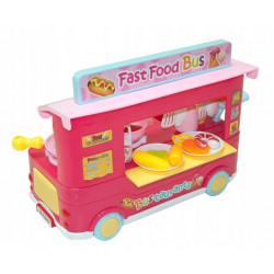 Zestaw kuchenny fast food bus truck