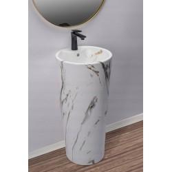 Umywalka wolnostojąca Blanka Marble Mat Rea