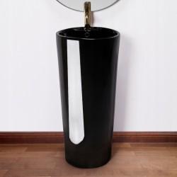 Umywalka wolnostojąca Blanka Black Rea