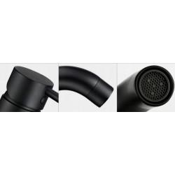 Bateria umywalkowa Lungo Black Rea