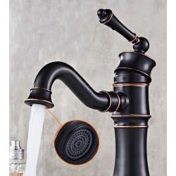 Bateria umywalkowa Vintage Old Black Rea