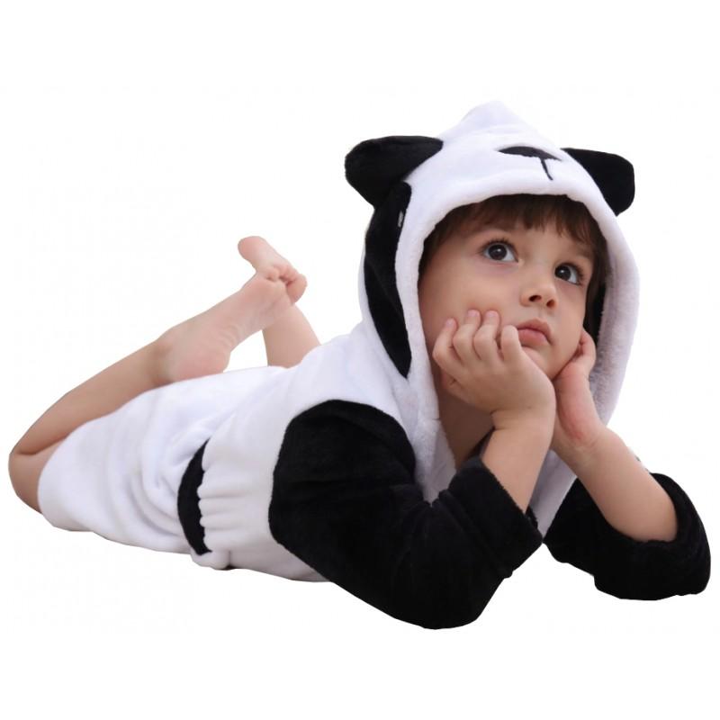 Szlafrok Dziecięcy Panda 120 cm