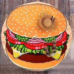Ręcznik plażowy Hamburger...