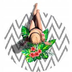 Ręcznik plażowy Flaming 150 cm