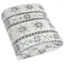 Narzuta koc snow - l.grey