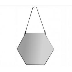 Hexagon metalowe lustro...