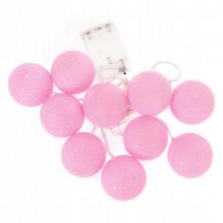 Świecące cotton balls kule...