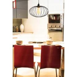 Lampa sufitowa wisząca pojedyncza loft parma e27