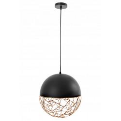 Lampa sufitowa wisząca glamour loft moreno gold