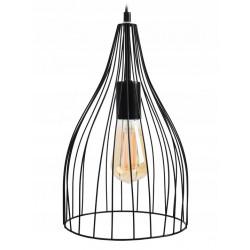 Lampa sufitowa wisząca pojedyncza loft rimini e27