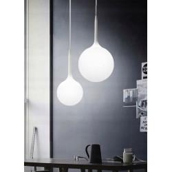 Lampa sufitowa wisząca żyrandol kula cary 25 szkło