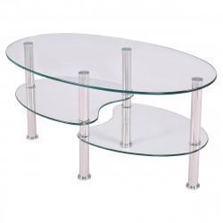 Stolik kawowy szklany 90 cm...
