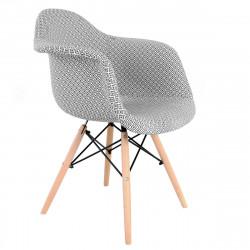 Fotel krzesło retro designe...