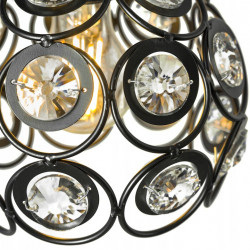 Lampa wisząca kula kryształ APP209 3CPR