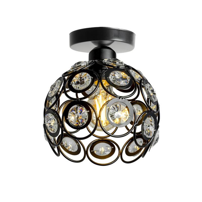 Lampa wisząca kula kryształ APP203-1C