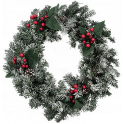 Girlanda świąteczna okrągła...