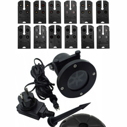 Wodoodporny projektor laserowy 12w1