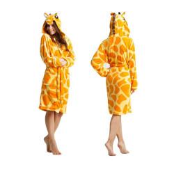 Szlafrok damski Żyrafa
